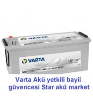 180 Amper Varta Akü - silver M18